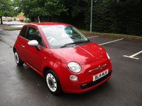 USED 2014 14 FIAT 500 1.2 COLOUR THERAPY 3d 69 BHP VERY CLEAN LOW MILEAGE EXAMPLE !!
