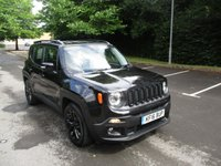 USED 2016 16 JEEP RENEGADE 1.6 M-JET DAWN OF JUSTICE 5d 118 BHP VIEWING HIGHLY RECOMMENDED !!