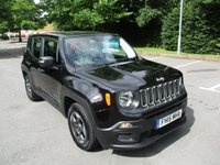 USED 2015 15 JEEP RENEGADE 1.6 M-JET SPORT 5d 118 BHP GREAT VALUE JEEP RENEGADE !!