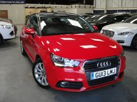 USED 2013 13 AUDI A1 1.4 SPORTBACK TFSI SPORT 5d AUTO 122 BHP ANY PART EXCHANGE WELCOME, COUNTRY WIDE DELIVERY ARRANGED, HUGE SPEC