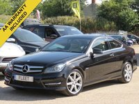 2012 MERCEDES-BENZ C CLASS 2.1 C220 CDI BLUEEFFICIENCY AMG SPORT 2d 170 BHP £9990.00