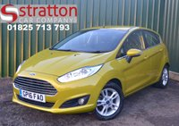 USED 2016 16 FORD FIESTA 1.0 ZETEC 5d 99 BHP High Quality hand picked cars by Stratton Car Company Uckfield Sussex - 01825 713 793
