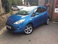 USED 2011 61 FORD KA 1.2 TATTOO PREMIUM 3d 69 BHP