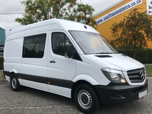 2015 15 MERCEDES-BENZ SPRINTER 2.1 313 CDI MWB [ WELFARE CREW MESS + UNIT TOILET VAN LOW MILEAGE