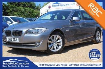 2012 BMW 5 SERIES 2.0 520D SE 4d AUTO 181 BHP £11500.00