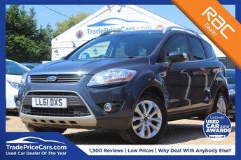 2012 FORD KUGA 2.0 TITANIUM TDCI AWD 5d 163 BHP £8950.00