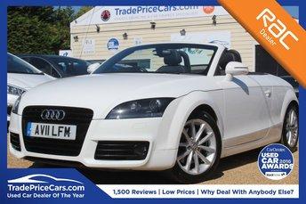 2011 AUDI TT 1.8 TFSI SPORT 2d 160 BHP £9950.00