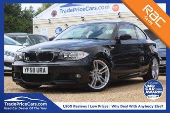 2009 BMW 1 SERIES 2.0 123D M SPORT 2d 202 BHP £6500.00