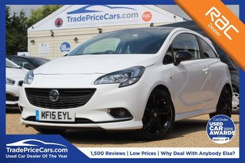 2015 VAUXHALL CORSA 1.4 LIMITED EDITION 3d 89 BHP £6450.00