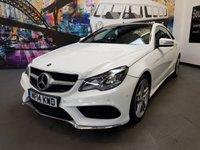 2014 MERCEDES-BENZ E CLASS 2.1 E250 CDI AMG SPORT 2d AUTO 204 BHP £17994.00