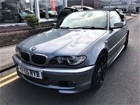 USED 2005 05 BMW 3 SERIES 2.5 325CI SPORT 2d 190 BHP