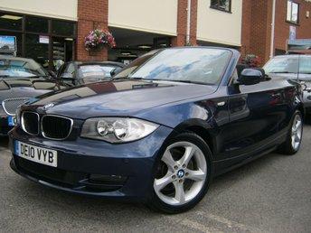 2010 BMW 1 SERIES 2.0 118D SPORT 2d 141 BHP