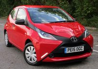 USED 2015 15 TOYOTA AYGO 1.0 VVT-I X 5d 69 BHP LOW MILEAGE - ONE OWNER - £0 ROAD TAX