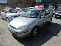 USED 2004 04 FORD FOCUS 1.8 GHIA 5d 113 BHP