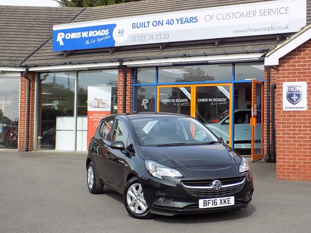 USED 2016 16 VAUXHALL CORSA 1.4 DESIGN 5dr AUTO  *Great Value Automatic*