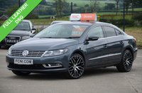 USED 2013 62 VOLKSWAGEN CC 2.0 GT TDI BLUEMOTION TECHNOLOGY *DSG AUTO* **FULL LEATHER // DSG**