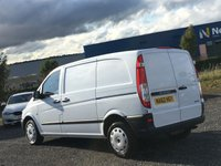 USED 2012 62 MERCEDES-BENZ VITO 2.1 113 CDI COMPACT ONE OWNER FROM NEW, ONLY 63,000 MILES, TIDY VAN