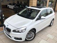 2015 BMW 2 SERIES 2.0 218D LUXURY ACTIVE TOURER 5d AUTO 148 BHP £16995.00