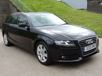 USED 2010 10 AUDI A4 2.0 AVANT TDI SE DPF 5d 141 BHP 1 OWNER FROM NEW +  SERVICE RECORD, LAST SERVICE AT 95K +  PARKING SENSORS +  MOT JULY 2019
