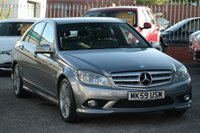 USED 2009 59 MERCEDES-BENZ C CLASS 2.1 C250 CDI BLUEEFFICIENCY AMG SPORT 4d 205 [w204] FULL SERVICE HISTORY