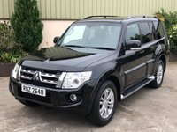 USED 2012 MITSUBISHI SHOGUN 3.2 DI-D SG3 5d AUTO 197 BHP 7 SEATER, LEATHER, REVERSE CAMERA, SAT NAV