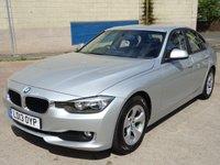 2013 BMW 3 SERIES 2.0 320D EFFICIENTDYNAMICS 4d AUTO 161 BHP £11000.00