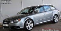 USED 2006 06 AUDI A4 AVANT 2.0TDi S-LINE 5 DOOR 6-SPEED 140 BHP
