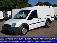 2012 FORD TRANSIT CONNECT T230 LWB WITH AIR CON & ELECTRIC WINDOWS £4595.00