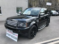 USED 2006 06 LAND ROVER RANGE ROVER SPORT 2.7 TDV6 HSE 5d AUTO 188 BHP ** FSH ** ALSO SOLD WITH 12 MONTHS MOT + SERVICE **