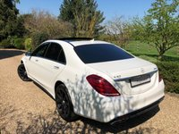 USED 2014 14 MERCEDES-BENZ S CLASS 5.5 S63 AMG L EXECUTIVE 4d AUTO 585 BHP