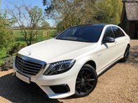 2014 MERCEDES-BENZ S CLASS 5.5 S63 AMG L EXECUTIVE 4d AUTO 585 BHP £56700.00