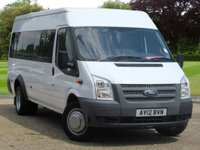 USED 2012 12 FORD TRANSIT 2.2 430 SHR BUS 17 STR 1d  16 SEATER