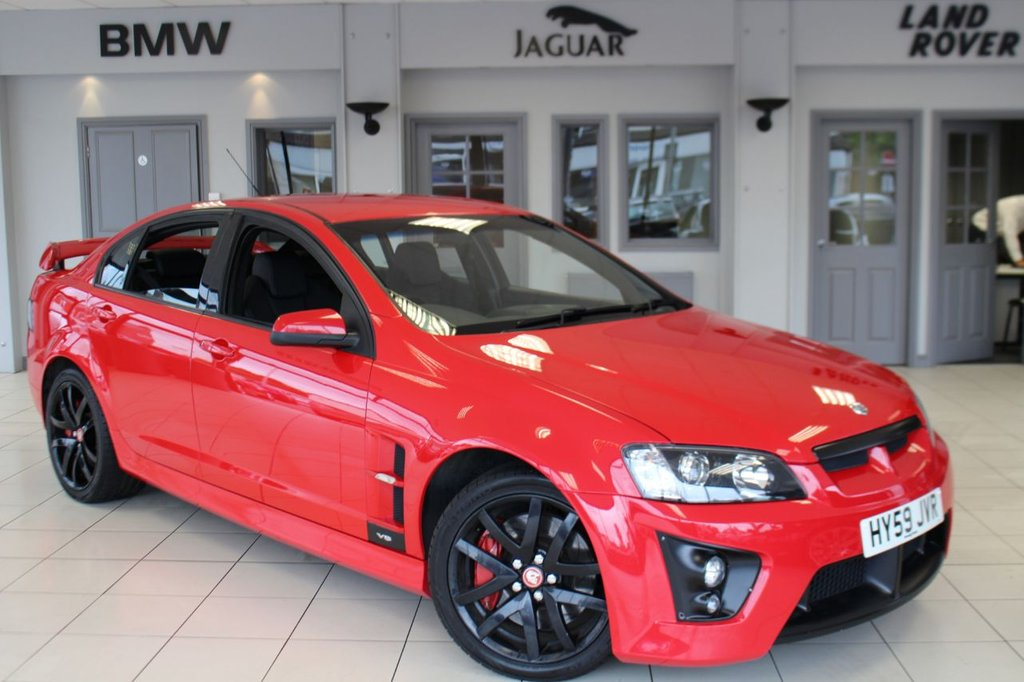 View our VAUXHALL VXR8