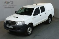 USED 2014 64 TOYOTA HI-LUX 2.5 ACTIVE 4X4 D-4D DCB 142 BHP AIR CON PICK UP AIR CONDITIONING / ONE OWNER S/H