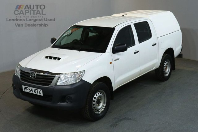 2014 64 TOYOTA HI-LUX 2.5 ACTIVE 4X4 D-4D DCB 142 BHP AIR CON PICK UP AIR CONDITIONING / ONE OWNER S/H