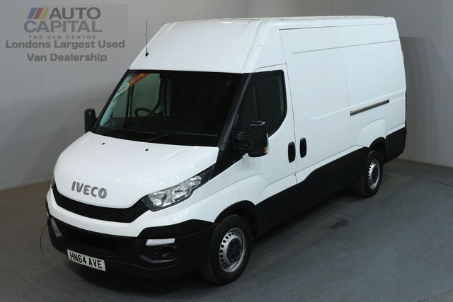 2014 64 IVECO-FORD DAILY 2.3 35S13V 126 BHP L2 H3 MWB H/R PANEL VAN  ONE OWNER FROM NEW