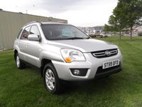 USED 2009 59 KIA SPORTAGE 2.0 XE CRDI 5d 138 BHP ONLY 59K, FSH, IMMACULATE CONDITION