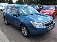 USED 2014 64 SUBARU FORESTER 2.0 D XC 5d 145 BHP SPACIOUS 4X4 FAMILY CAR !! - FULL MAIN DEALER HISTORY - GREAT SPEC - DRIVES SUPERBLY