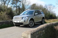 2013 LAND ROVER FREELANDER 2 2.2 SD4 HSE LUXURY 5d AUTO 190 BHP (FREE 2 YEAR WARRANTY) £16499.00