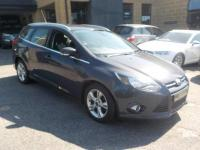 USED 2013 13 FORD FOCUS 1.6 TDCi ECOnetic Zetec 5dr FREE £0.00 RFL; 83.1 mpg