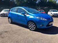 2010 FORD FIESTA 1.4 TDCI ZETEC  5d  WITH SERVICE HISTORY AND LOW MILEAGE  £4250.00