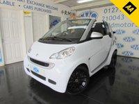 2011 SMART FORTWO CABRIO 0.8 PASSION CDI 2d AUTO 54 BHP £SOLD