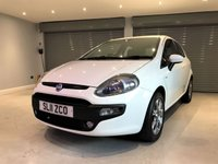 USED 2011 11 FIAT PUNTO EVO 1.4 GP 3d 77 BHP POLISHED ALLOYS + AIR CONDITIONING + FULL SERVICE HISTORY