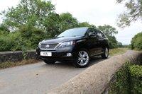 2010 LEXUS RX 3.5 450H SE-I 5d AUTO 249 BHP £18000.00