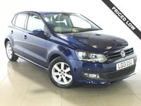 USED 2013 13 VOLKSWAGEN POLO 1.2 MATCH 5d 59 BHP Ideal First Car/Air Con