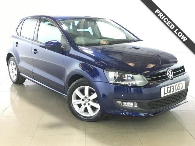 View our 2013 13 VOLKSWAGEN POLO 1.2 MATCH 5d 59 BHP