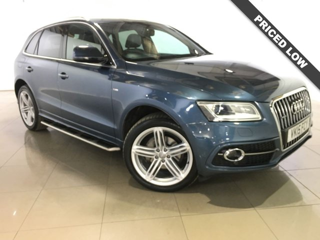 View our 2015 15 AUDI Q5 2.0 TDI QUATTRO S LINE PLUS 5d AUTO 175 BHP