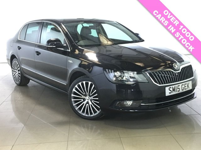 View our 2015 15 SKODA SUPERB 2.0 LAURIN AND KLEMENT TDI CR 5d 139 BHP
