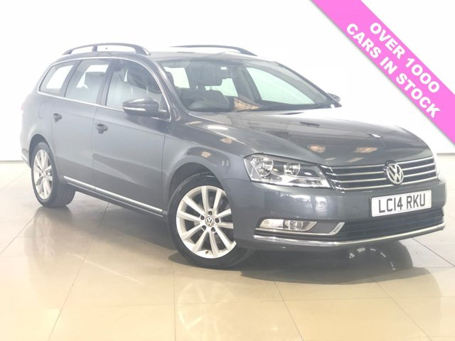 View our 2014 14 VOLKSWAGEN PASSAT 2.0 EXECUTIVE TDI BLUEMOTION TECHNOLOGY 5d 175 BHP