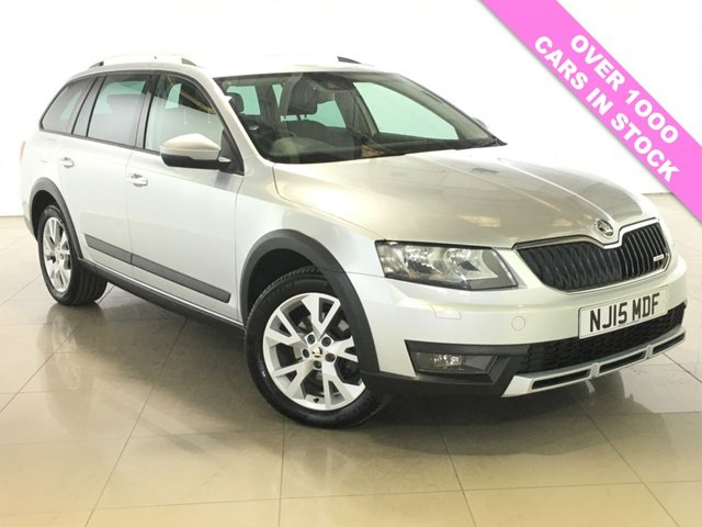 View our 2015 15 SKODA OCTAVIA 2.0 SCOUT TDI CR 4X4 NAV 5d 148 BHP